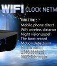 DG2u – Digital Wifi Spy Clock (Description)