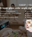 DG2U – 1080P Rectagular Spy Clock (Wifi)