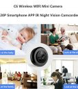 DG2u – C6 mini 720P HD night vision (Function R)