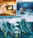 DG2u – 4K Sport Camera Full HD Waterproof (Angel)