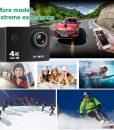 DG2u – 4K Sport Camera Full HD Waterproof (HD))
